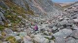 Descending the Chamlain Gap